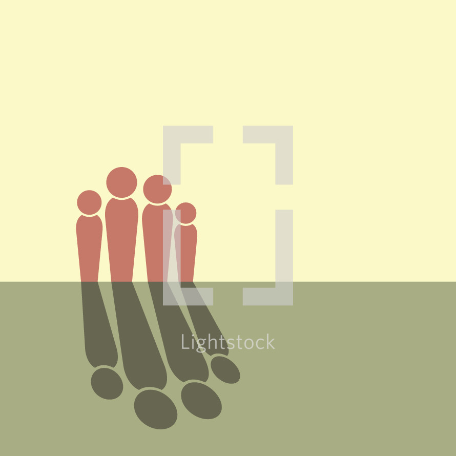 family and shadows icon
