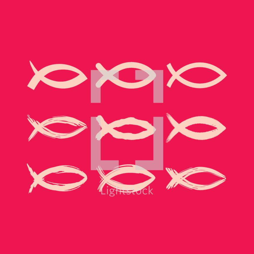 Jesus fish, Ichthus, icon