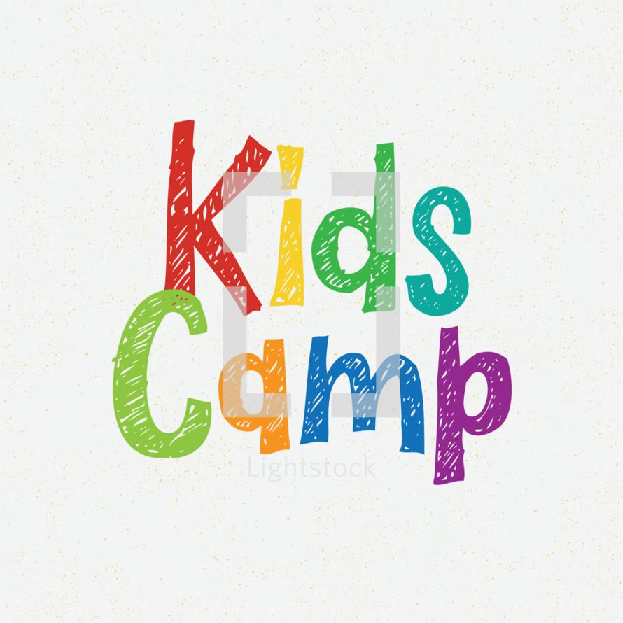kids camp sign