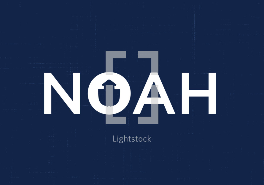 Noah logo with boat icon