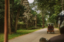 carriage on the streets of Cambodia