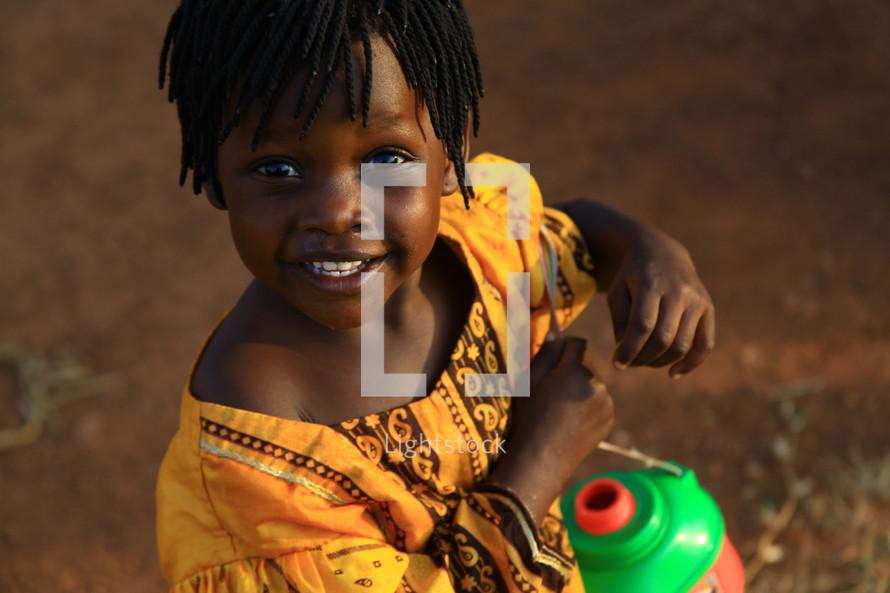Little African girl