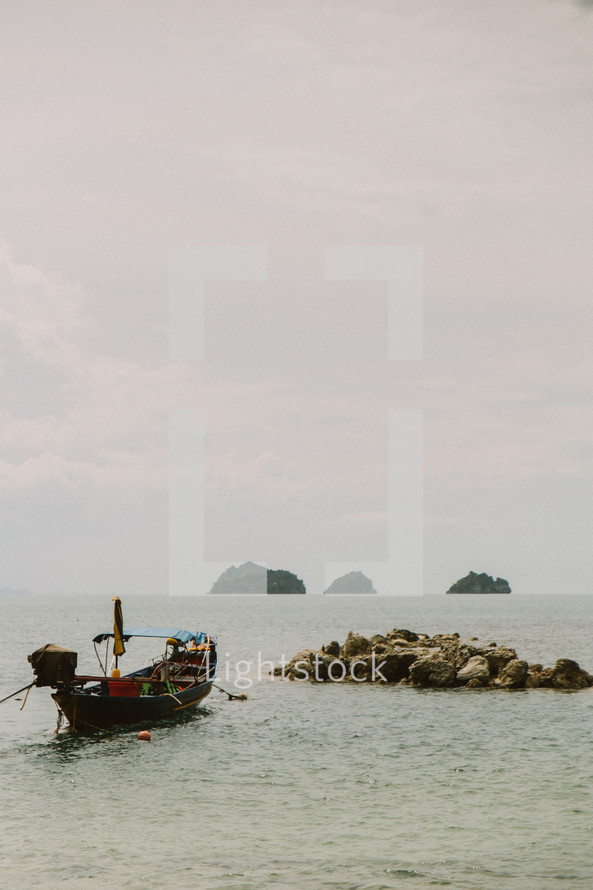 Fishing boat in Thailand.