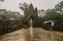 rain falling in Cambodia