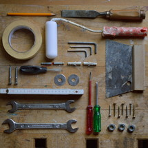 display of tools