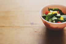 fresh bowl of greek salad