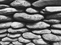 iphone capture of rugged rock wall