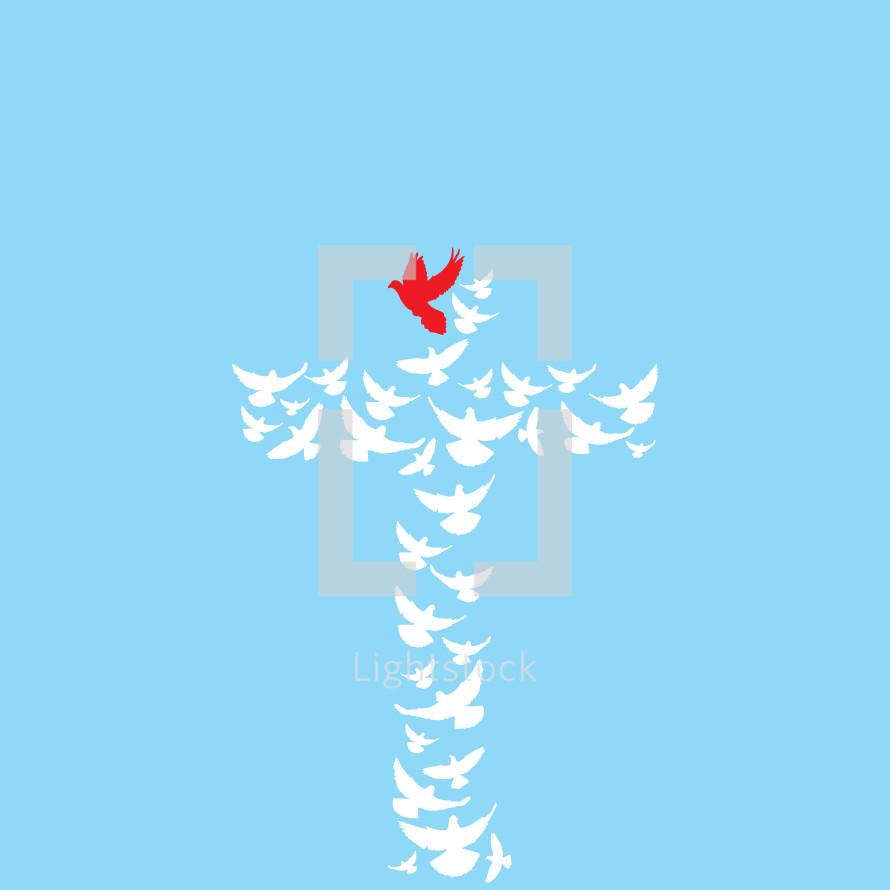 dove cross