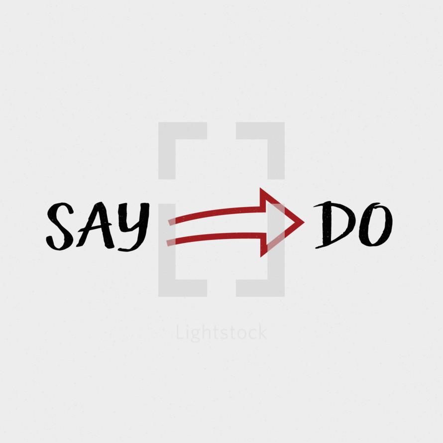 say do