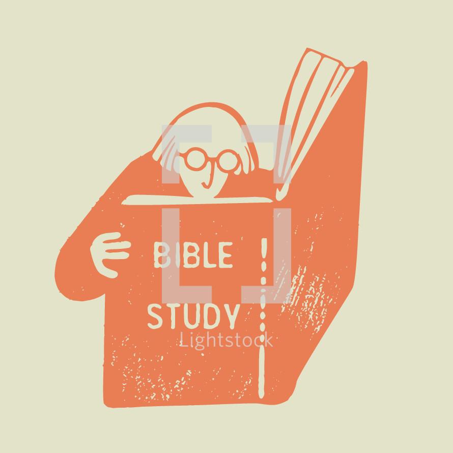 Bible study icon