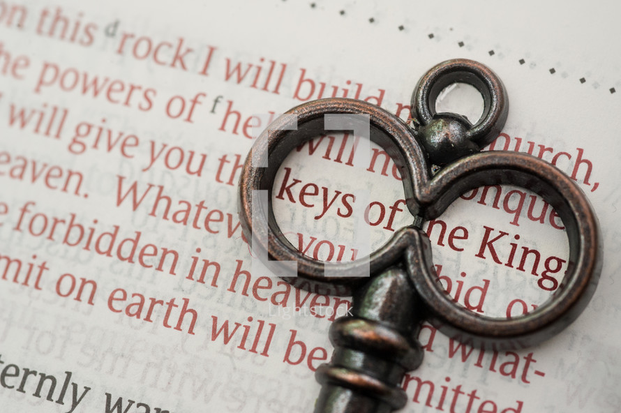 keys of the king