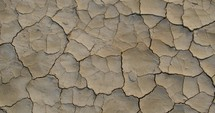 parched dry ground
