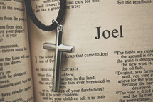 Joel and cross necklace