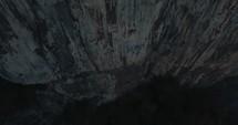 sides of cliffs
