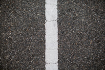 center line on a road