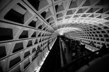 Washington Metro Subway terminal