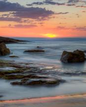 Birubi Beach sunset