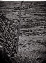stone dividing wall