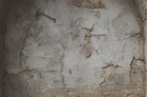a rough textured cement wall