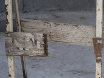 broken under construction sign