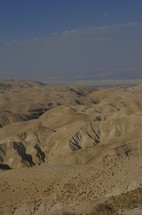 Velvety hills of the Negev wilderness