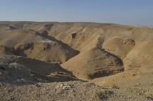 Hills of the Negev wilderness