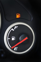 gas tank on empty
