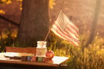 All-American desk.