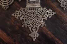 Detail from an Ethiopian Coptic Cross