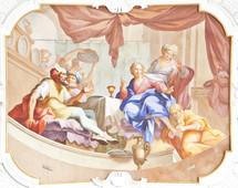 foot washing fresco