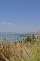 View of Dead Sea from Golan heights