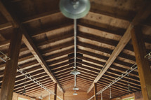 Can lights in a wooden ceiling