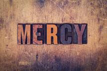 word mercy