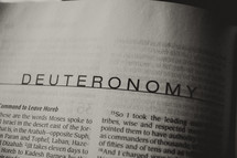 Open Bible book of Deuteronomy
