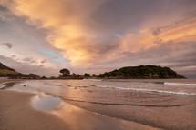 Bay of Plenty tide at sunrise