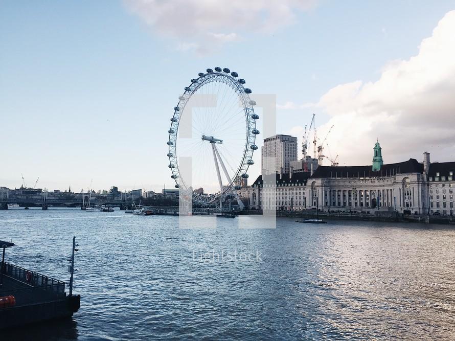 ferries wheel in London