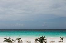 resort beach in the Bahamas