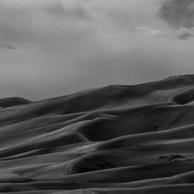 rolling sand dunes