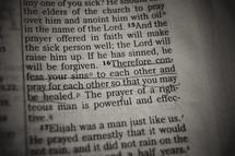 Bible verse - confess sins