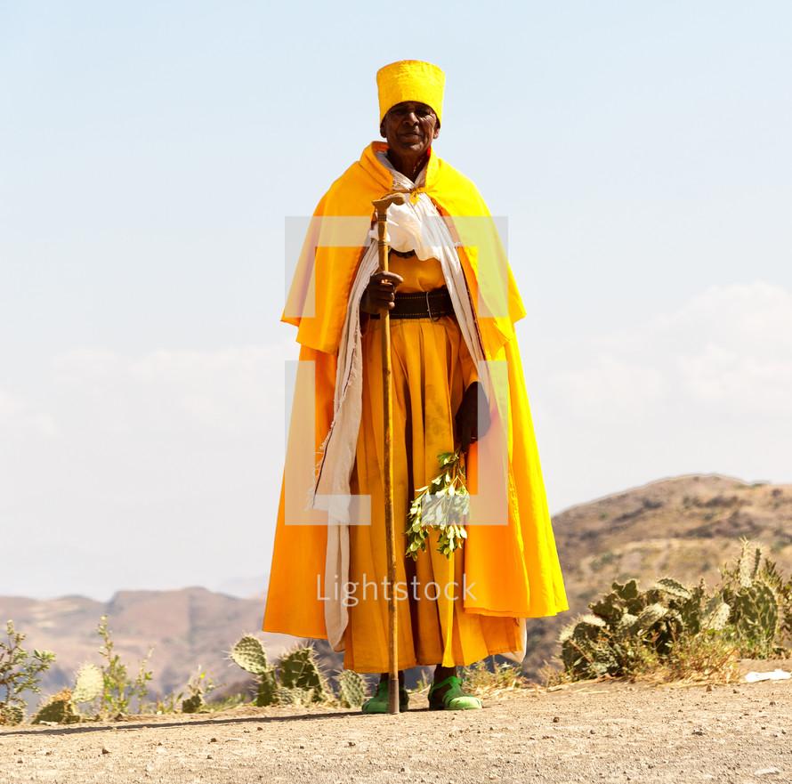 priest in Ethiopia