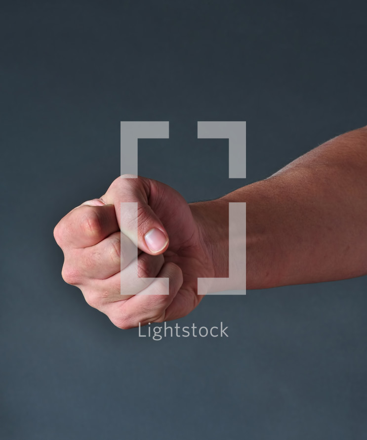 Strong Fist.