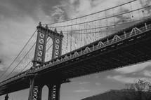 Tall bridge.