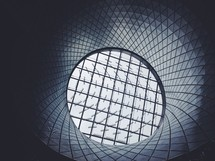 tunnel and sky light