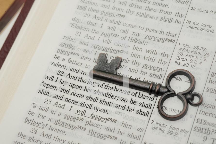 key over scripture