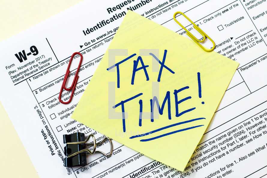 Tax Time Photo By Enterlinedesign Lightstock