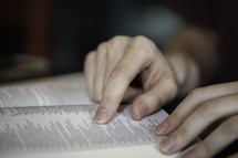 women reading Bibles at a Bible study