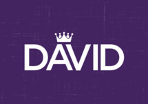 David logo with a crown