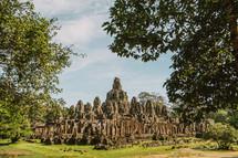 temple ruins in Cambodia