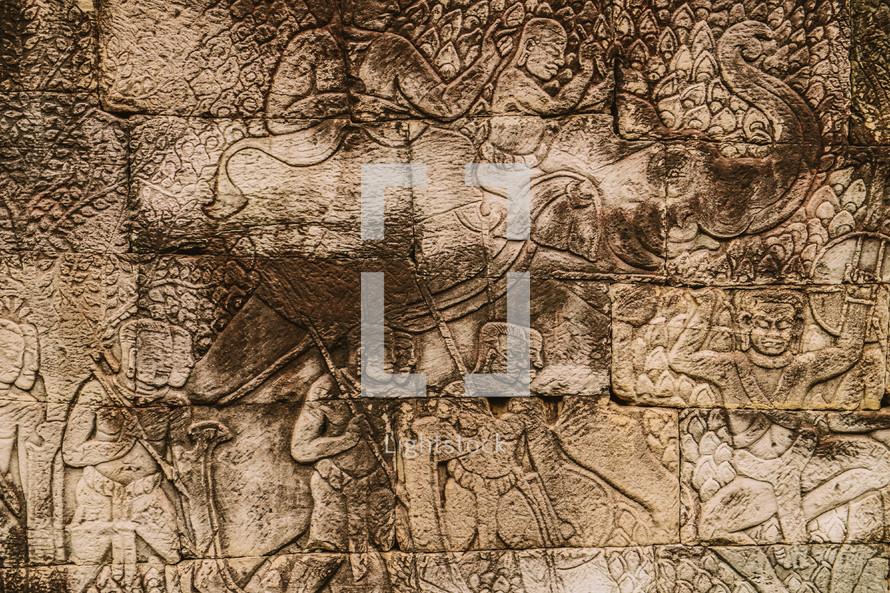 stone engravings