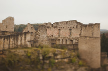 ruins in Luxembourg